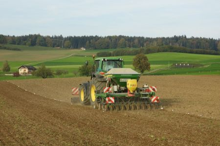 Mulchsaat Getreide